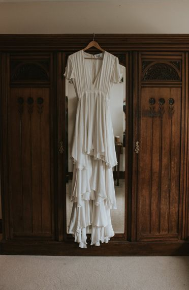 Layered Houghton NYC Wedding Dress