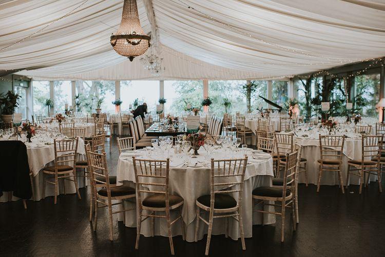Elegant Marquee Wedding Reception