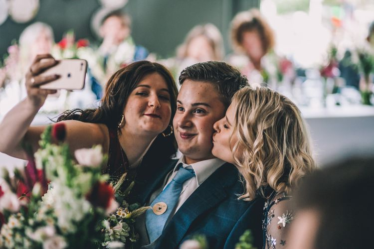 Guests Take Selfies At East Dulwich Tavern In London