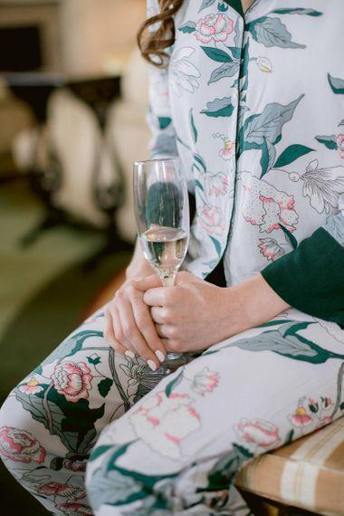 Natural wedding nails for Culzean Castle wedding in Scotland