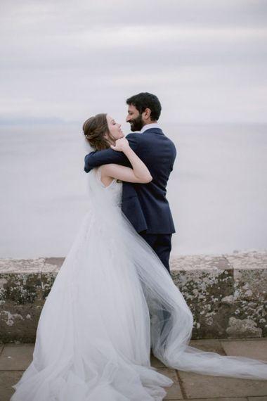 Stunning views at Culzean Castle wedding in Scotland