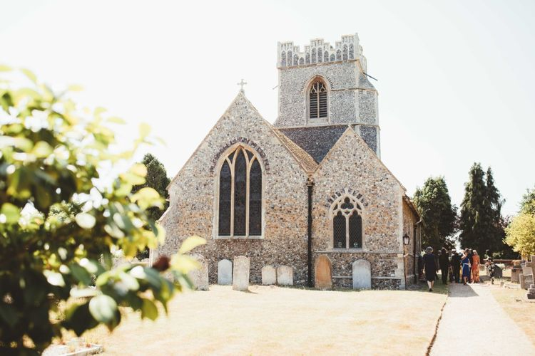 English Country Church in Thorrington, Essex   Quintessential English Country Wedding in Glass Marquee at Family Home   Maryanne Weddings Photography