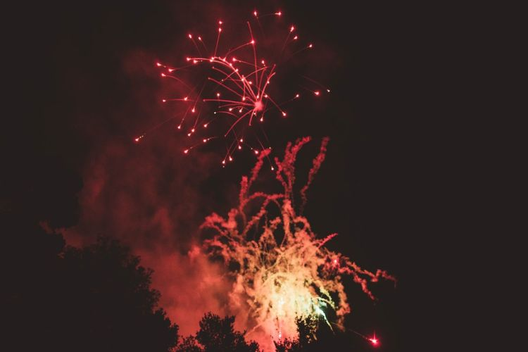 Fireworks   Quintessential English Country Wedding in Glass Marquee at Family Home   Maryanne Weddings Photography
