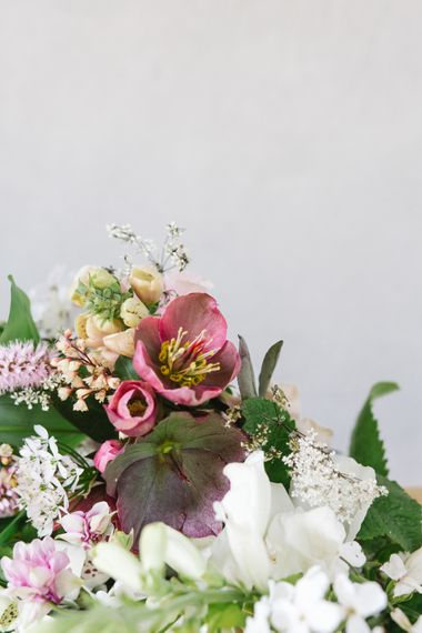 Floral Design by The Garden Gate Flower Company | Timeless English Country Garden Inspiration at Boconnoc House and Estate in Cornwall, Styled by On Serpentine Shores | Debs Alexander Photography