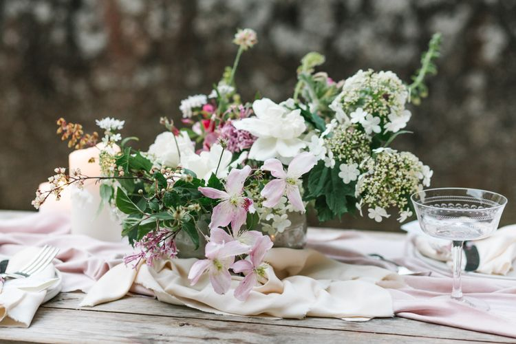 The Garden Gate Flower Company Floral Design | Timeless English Country Garden Inspiration at Boconnoc House and Estate in Cornwall, Styled by On Serpentine Shores | Debs Alexander Photography