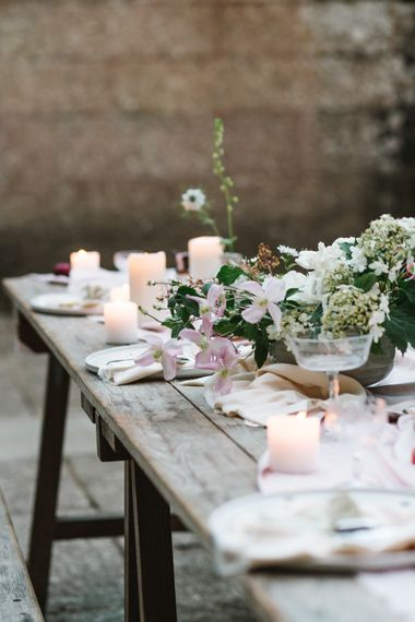 Tablescape |  | Timeless English Country Garden Inspiration at Boconnoc House and Estate in Cornwall, Styled by On Serpentine Shores | Debs Alexander Photography
