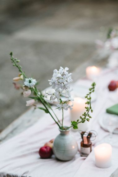 Flower Stems in Vases | Timeless English Country Garden Inspiration at Boconnoc House and Estate in Cornwall, Styled by On Serpentine Shores | Debs Alexander Photography