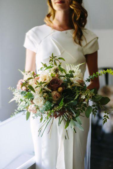Floral Summer Wedding at The Olde Bell, Hurley, Berkshire | Miranda Hackett Flowers | Garden Roses, Margaret Merril, Evelyn and Cafe Latte | Olivia Rae James Photography