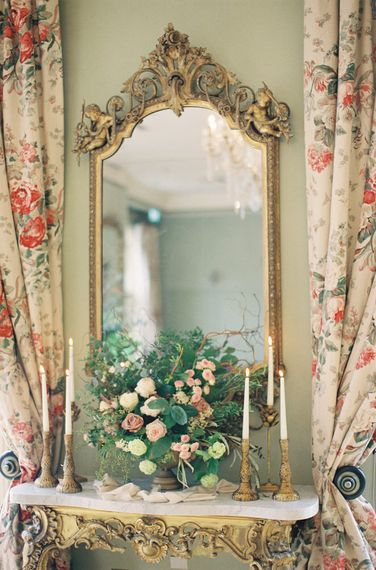 Fairytale Opulence at Charlton House, Somerset | Fine Art Film Photography by Liz Baker | Luxe Florist Fleur Provocateur.