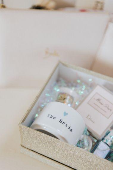 Bride to Be Wedding Morning  Gift Box