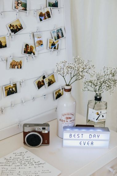Polaroid Picture Wedding Guest Book