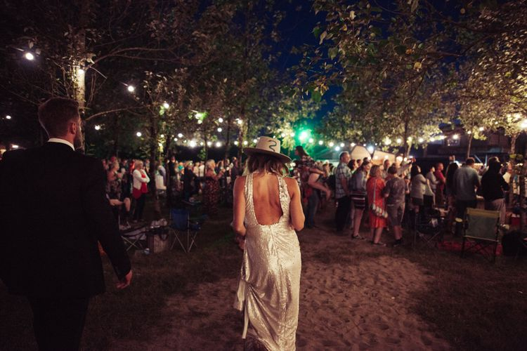 Authentic Festival Weddings At In The Wyldes Wedding Venue Site With Stage, Bar And Camping Area For Ready-to-go Festival Wedding