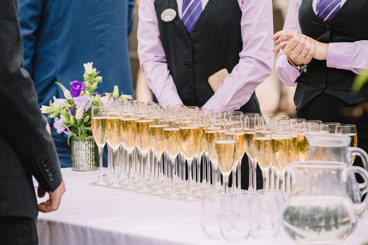 Champagne Reception // Image By Studio TM
