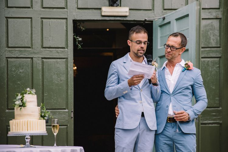 Wedding Speeches // Fawsley Hall // Image By Studio TM