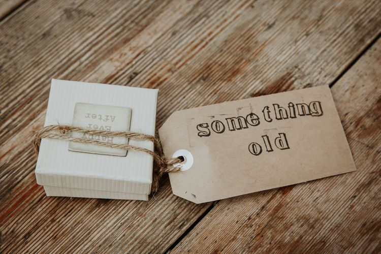 Something Old Wedding Box & Luggage Tag