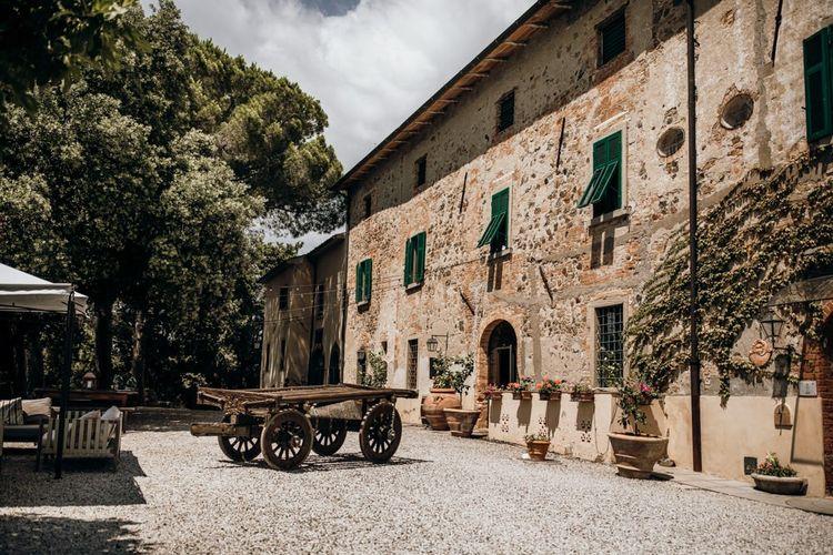 Tuscany destination intimate wedding