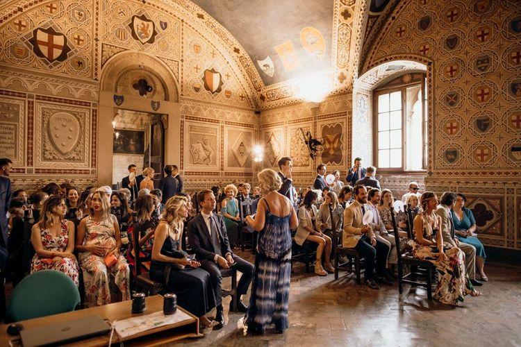 Palazzo dei Priori wedding ceremony