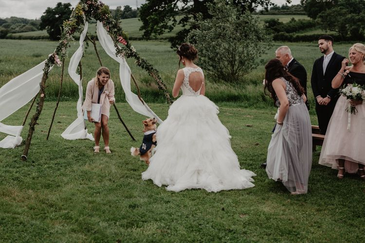 Outdoor Tipi Wedding At Tip Top Venues With Images From Elena Popa Photography Grazing Board Wedding Food And Brides In Wed 2 B Dresses