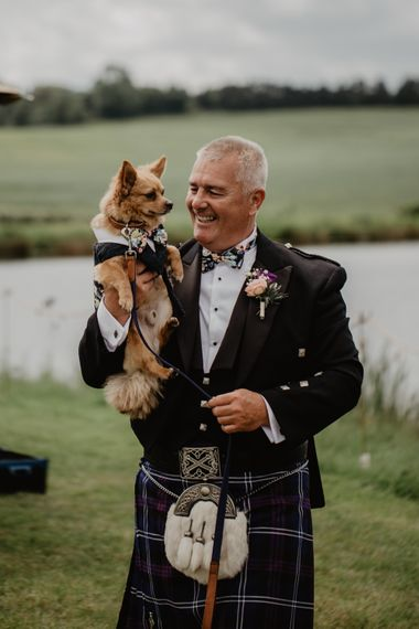 Dog As Ring Bearer // Outdoor Tipi Wedding At Tip Top Venues With Images From Elena Popa Photography Grazing Board Wedding Food And Brides In Wed 2 B Dresses