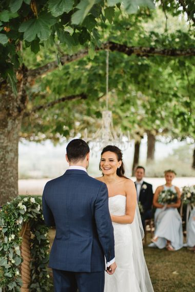 Outdoor Wedding Ceremony // French Destination Wedding Bordeaux  Marry Me In France Suzanne Neville Bride Darek Smietana Photography