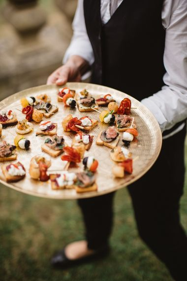 Wedding Canapes // French Destination Wedding Bordeaux  Marry Me In France Suzanne Neville Bride Darek Smietana Photography