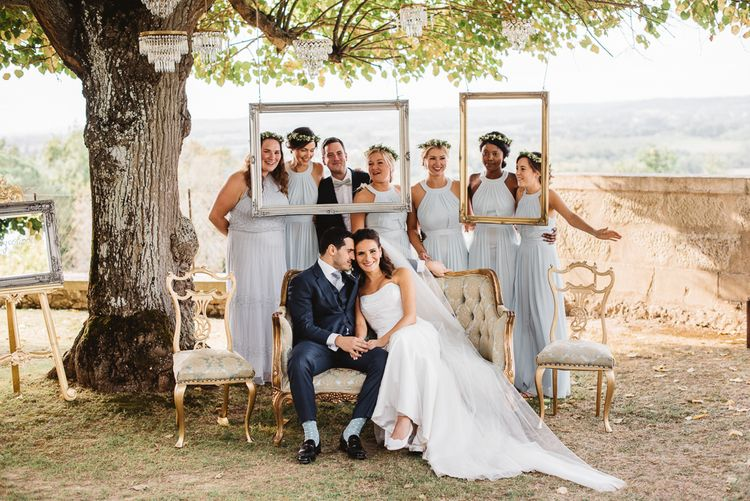 Wedding Party Shots // French Destination Wedding Bordeaux  Marry Me In France Suzanne Neville Bride Darek Smietana Photography