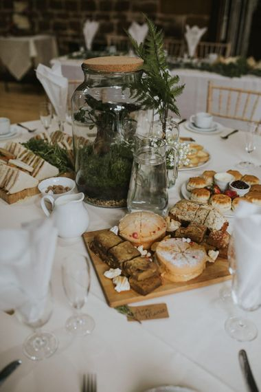 Afternoon Tea Wedding Breakfast with Cream tea and Sandwiches