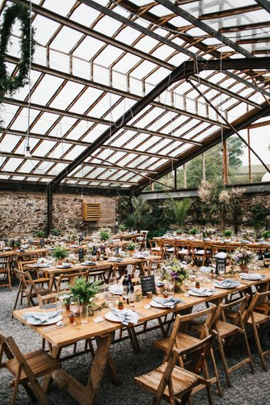 Anran Devon // Glasshouse Wedding Venue