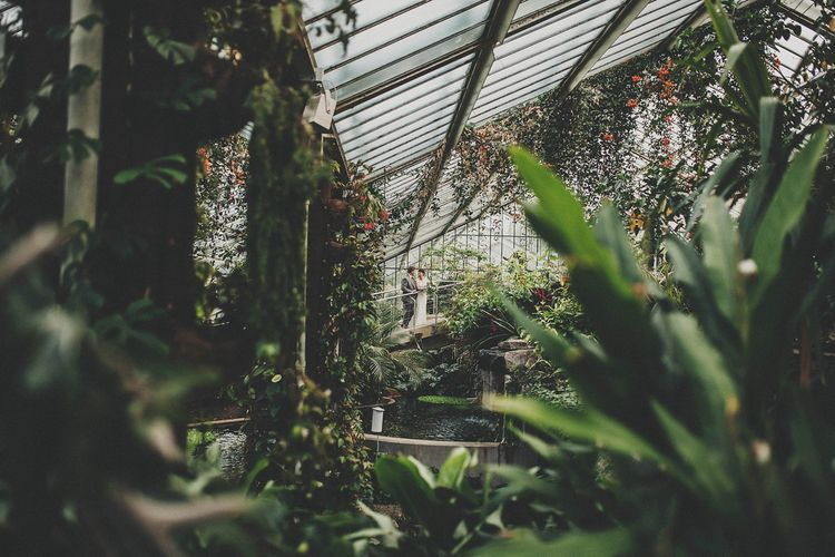 Kew Gardens Wedding // Glasshouse Wedding Venue