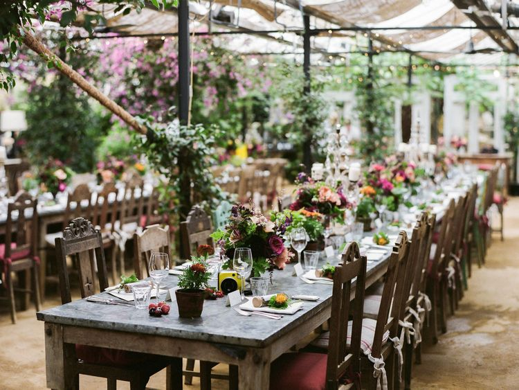 Petersham Nurseries Wedding