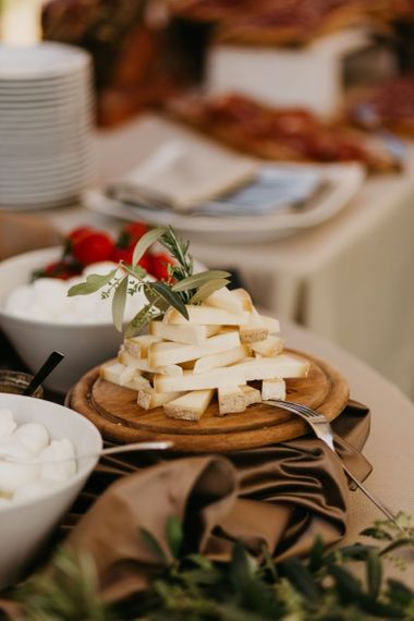 Cheese Board Grazing Table