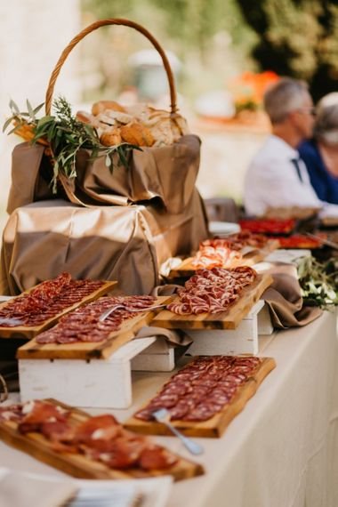 Cured Meats Grazing Table
