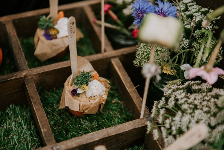 Plant Based Vegan and Vegetarian Wedding Canapés