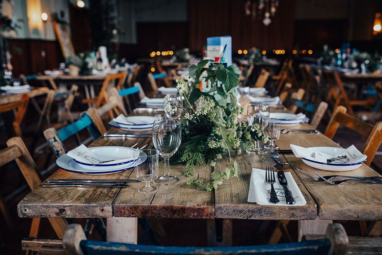 Rustic Wedding Tables by Virginias Vintage Hire Scotland