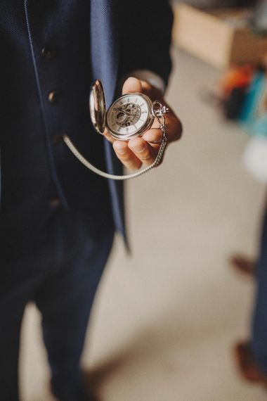 Grooms Pocket Watch