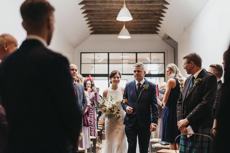 Guardswell Farm wedding ceremony