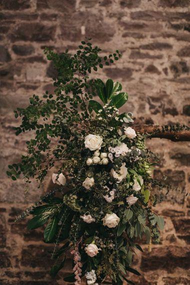 Wedding flowers at Guardswell Farm
