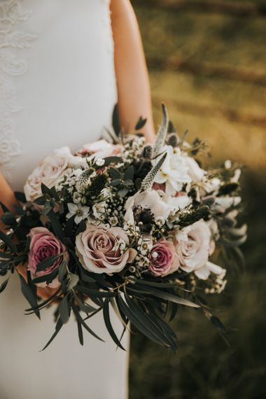 Blush wedding bouquet