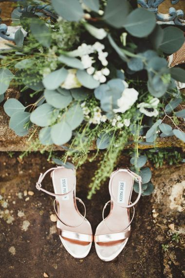 Gold Steve Madden Wedding Shoes
