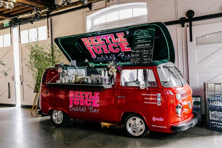 Beetle Juice Mobile Camper Van Bar