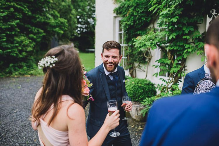 DIY Bright Family Wedding at Plas Glansevin in Carmarthenshire, Wales    O& C Photography