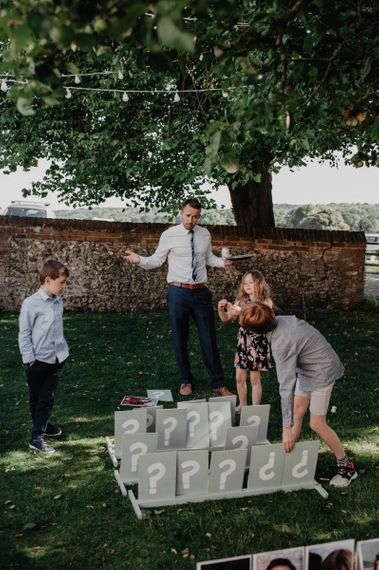 Garden games and personalised Guess Who