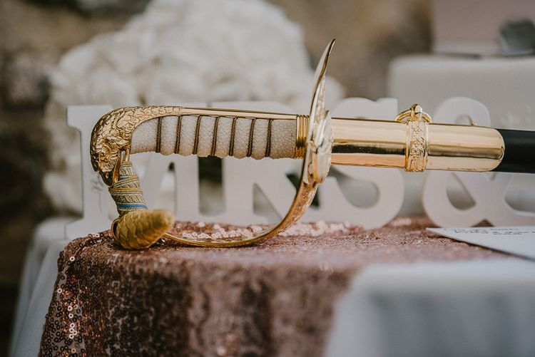 Ceremonial Sword to Cut the Wedding Cake