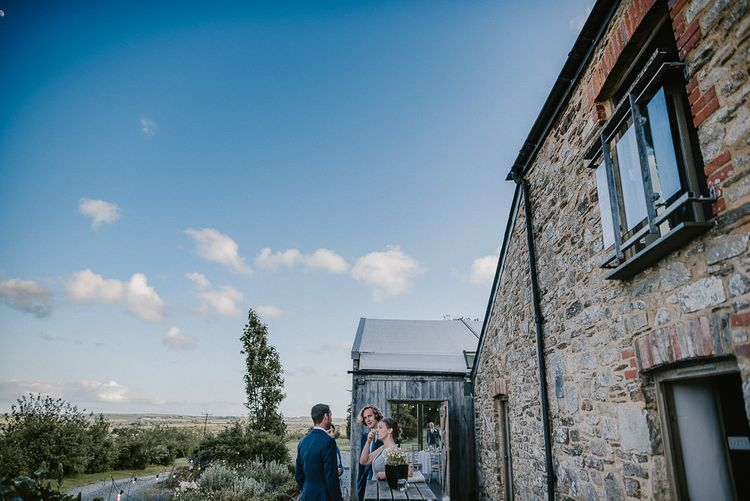 Wedding Guests Enjoying the Cornish Countryside