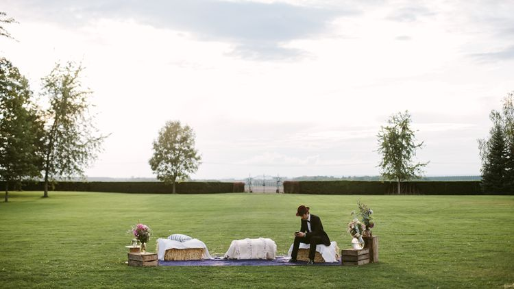 Stylish Two Day Wedding at Château de Varennes, Burgundy, France with I Do BBQ After Party Planned by Bulle & Tulle | Troistudios Photography | Studio80  Film