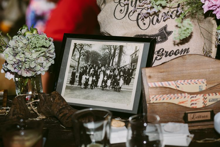 Wedding Decor | Stylish Two Day Wedding at Château de Varennes, Burgundy, France with I Do BBQ After Party Planned by Bulle & Tulle | Troistudios Photography | Studio80  Film