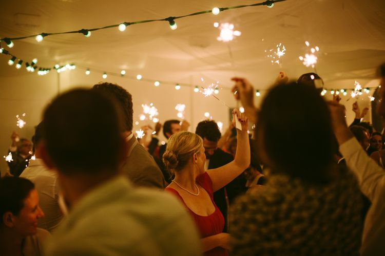 Sparkles | Stylish Two Day Wedding at Château de Varennes, Burgundy, France with I Do BBQ After Party Planned by Bulle & Tulle | Troistudios Photography | Studio80  Film