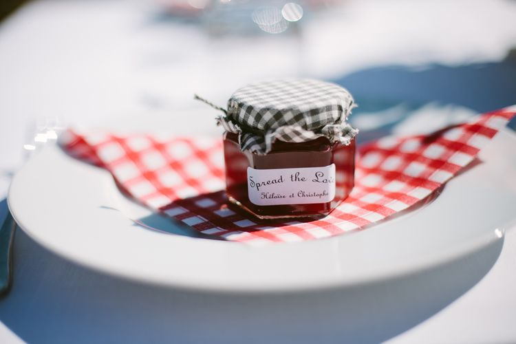 Spread the Love Jam Wedding Favour | Stylish Two Day Wedding at Château de Varennes, Burgundy, France with I Do BBQ After Party Planned by Bulle & Tulle | Troistudios Photography | Studio80  Film