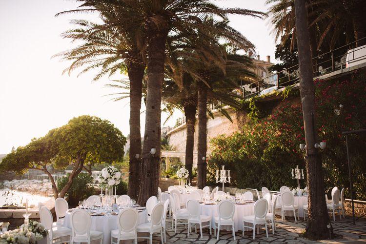 Outdoor Wedding Reception in Croatia