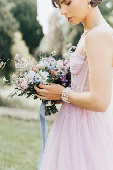Delicate Bracelet Bridal Jewellery